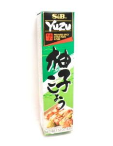 S&B  Yuzu Paste (Spicy Citrus Paste) | Buy Online at The Asian Cookshop